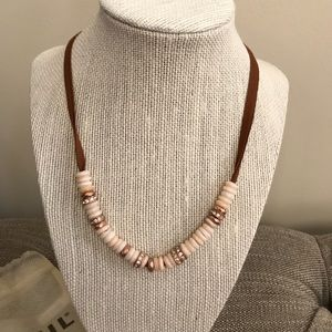 """NWT, Fossil, Beautiful """"Spring Rose"""" Necklace!!"""
